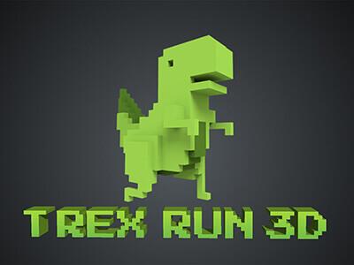Chrome Dinosaur Game 3D