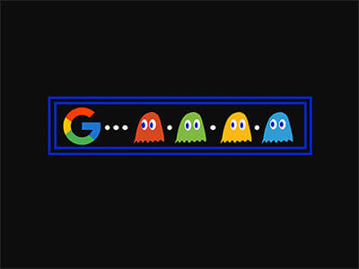 Google Pacman Game