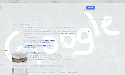 Google - Let It Snow